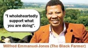 black farmer